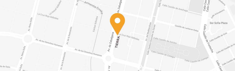 Tierra HOME Design - Ubicación de la tienda en Vitoria-Gasteiz
