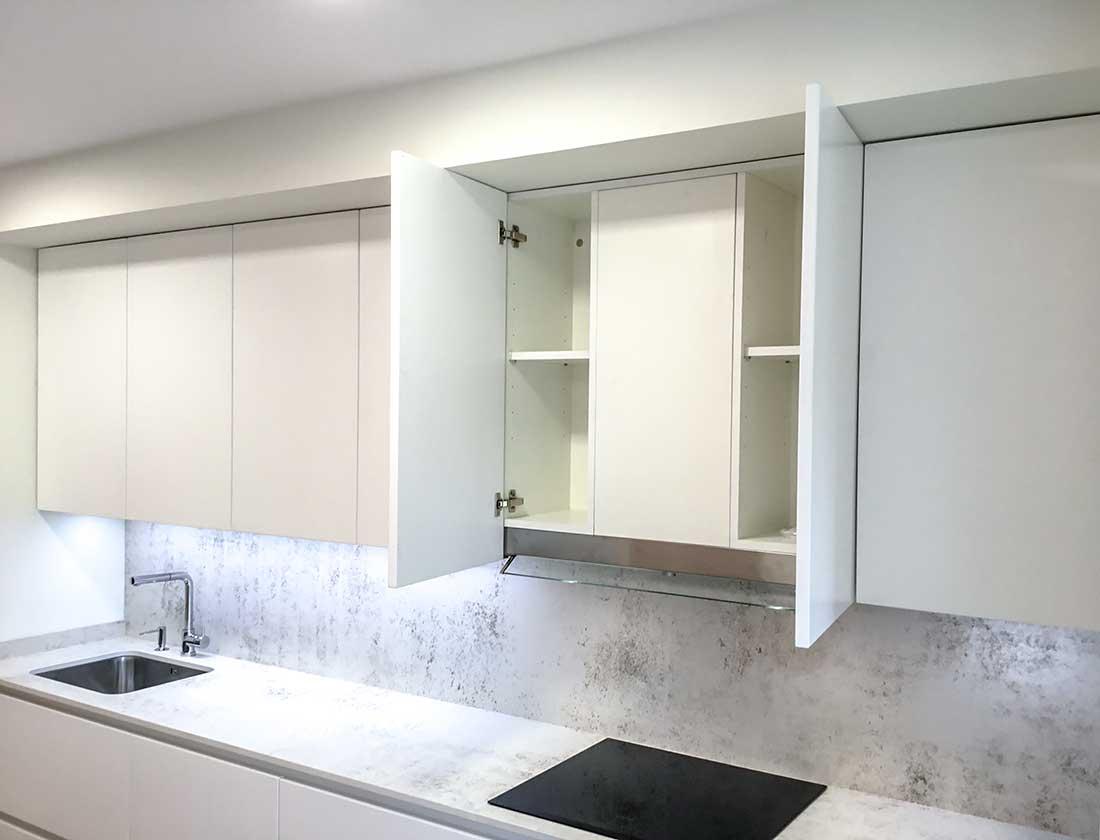 Muebles de cocina hasta el techo, Si o no? Cocinas modernas hasta techo