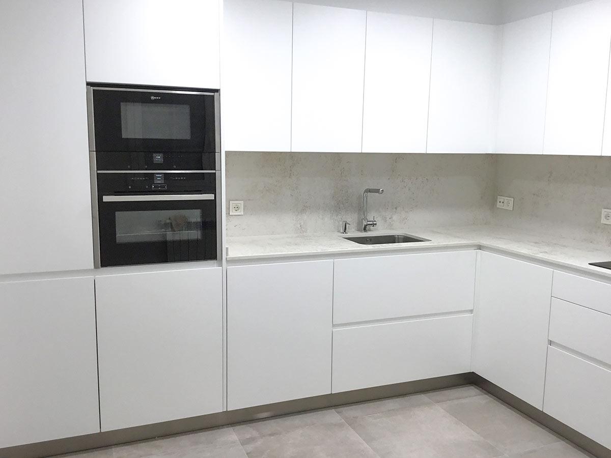 Muebles de cocina hasta el techo si o no cocinas modernas hasta techo - Cocinas en vitoria ...