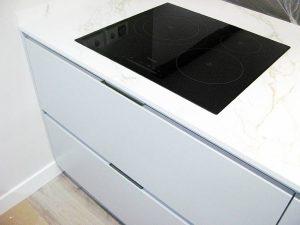 Muebles de cocina con tiradores uñeros