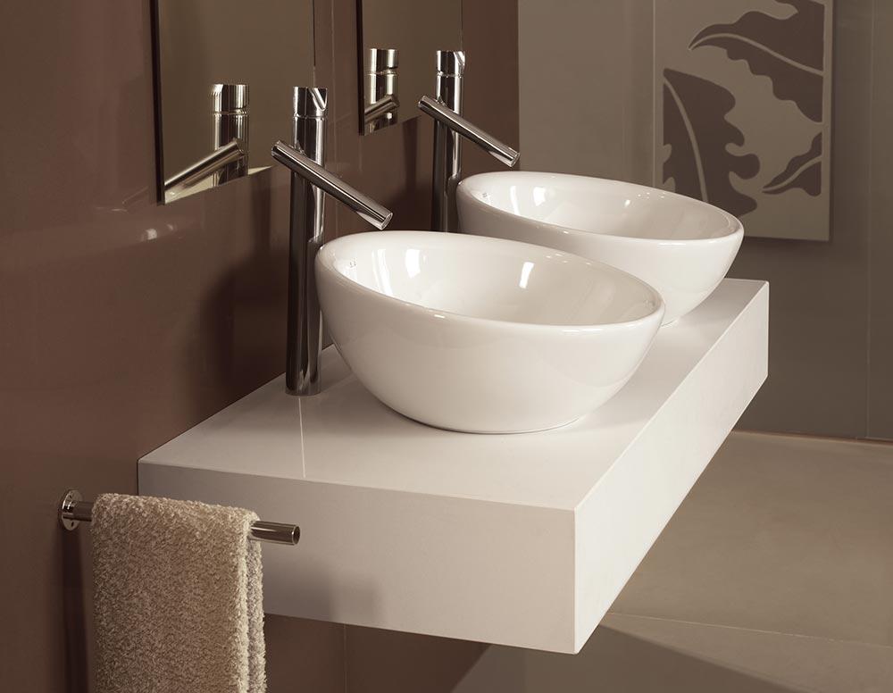 Lavabos de ba o ba os de calidad a medida en vitoria for Banos con dos lavabos