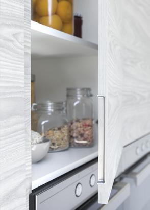 Tipos de tiradores para muebles de cocina