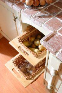 Problemas de almacenamiento cocinas pequeñas