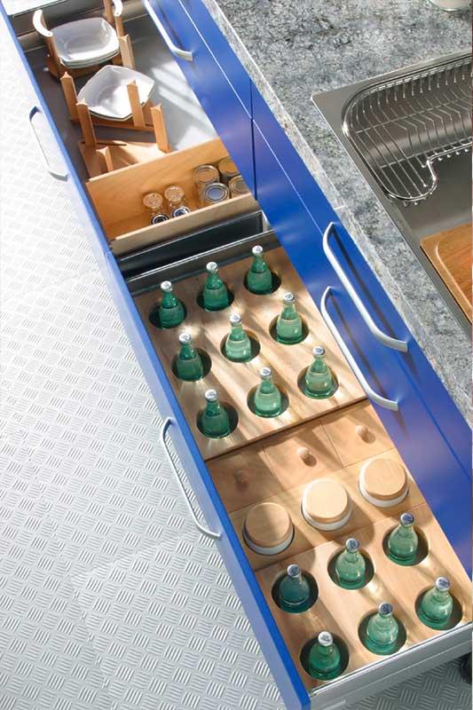 Soluciones de almacenaje para cocinas