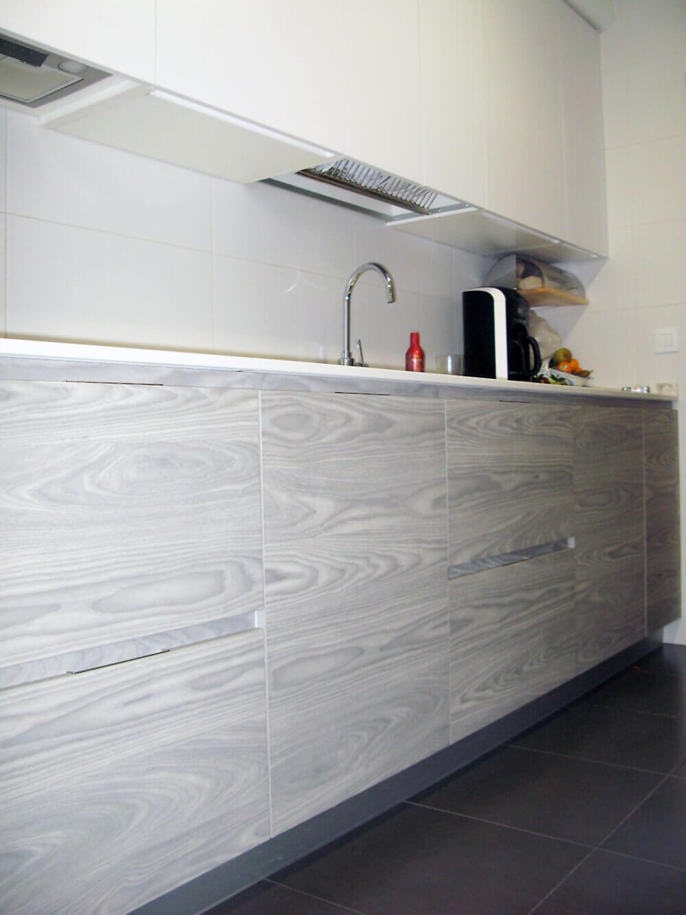 Cocina alargada 2 cocinas vitoria muebles de cocina vitoria gasteiz tierra home design - Muebles en vitoria gasteiz ...