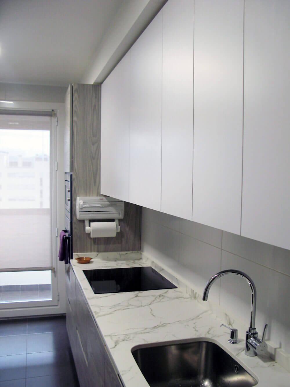 cocina-alargada-4 Cocinas Vitoria - Muebles de cocina ...