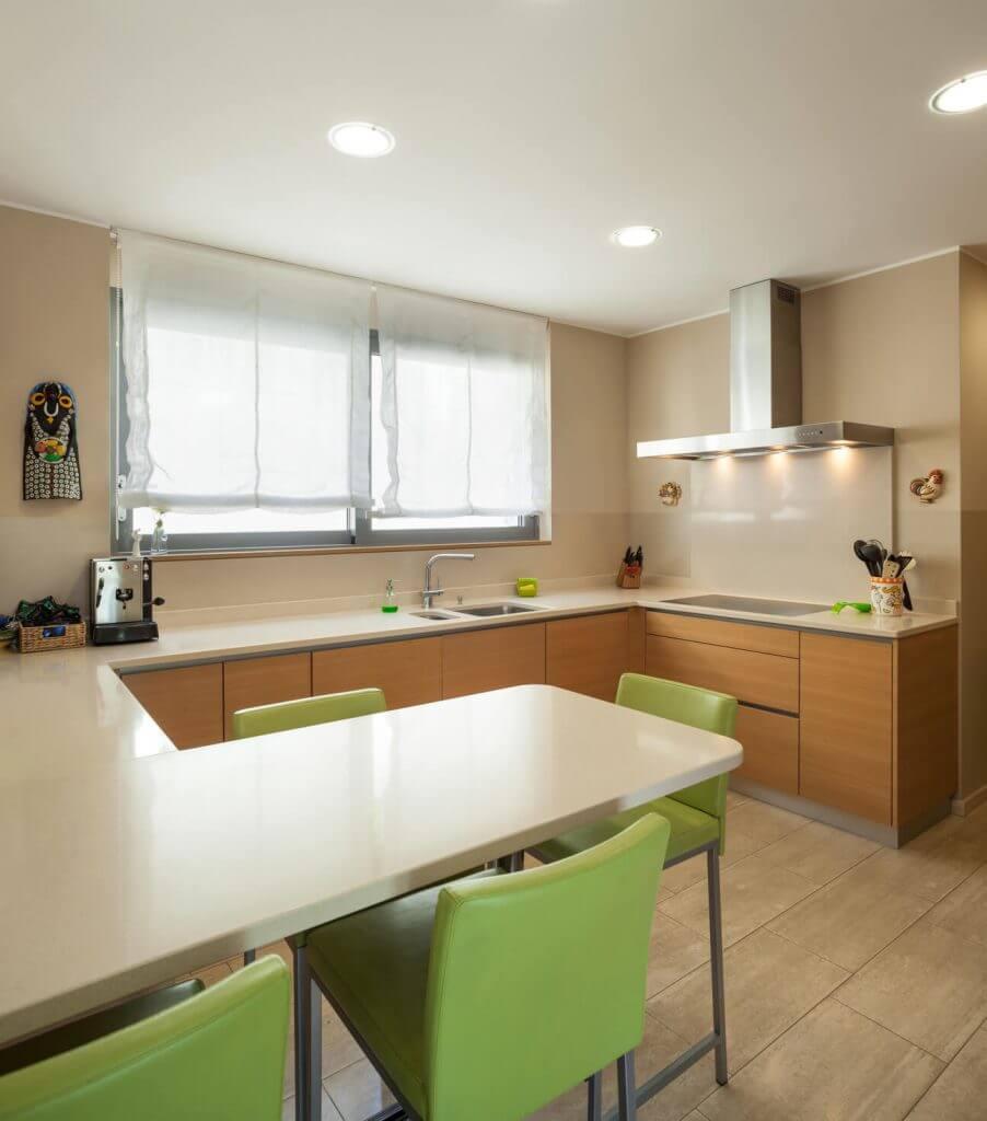 Cocinas con pen nsula cocinas vitoria tierra home design - Cocinas con peninsula ...