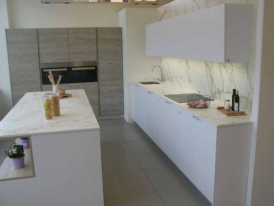 Isla de cocina en Dekton Entzo