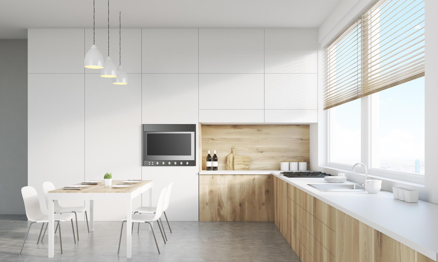 Cocina en esquina cocinas vitoria muebles de cocina for Muebles de esquina para cocina