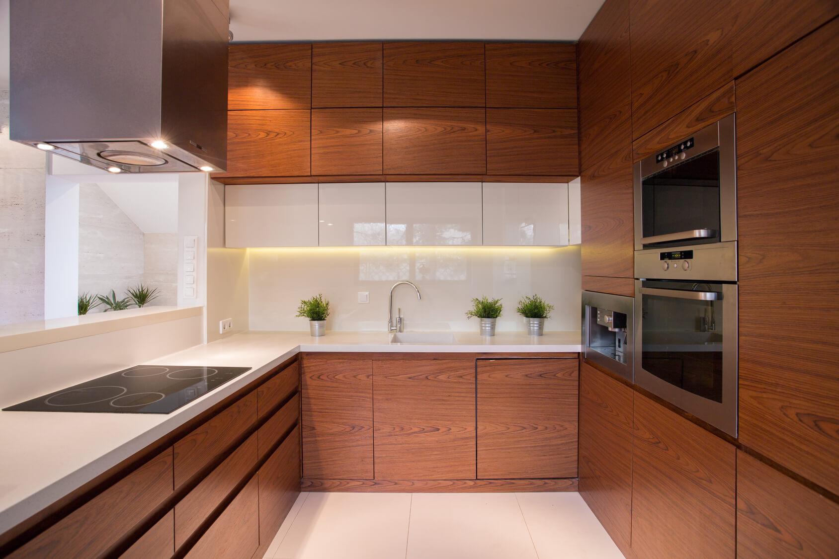 muebles de cocina hasta el techo si o no