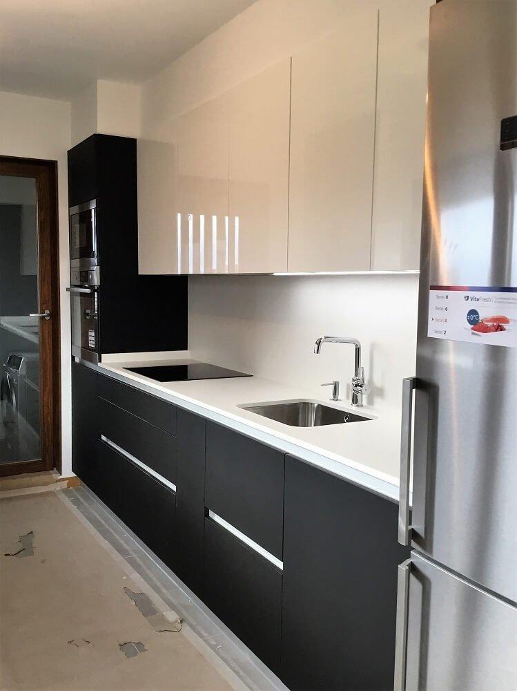 Puertas de cocina sin tirador for Cocinas vitoria