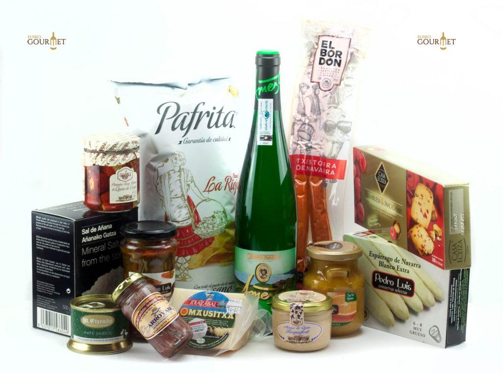 Lote de productos gourmet cocinas vitoria