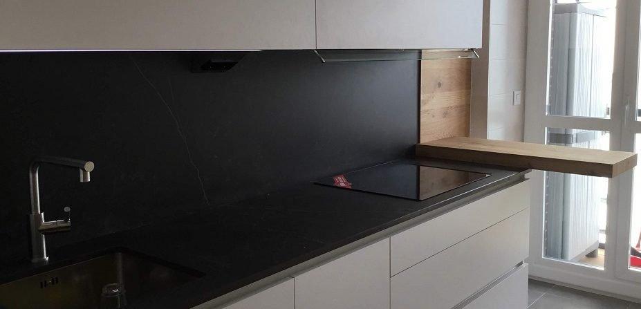 Mesa volada cocina de madera