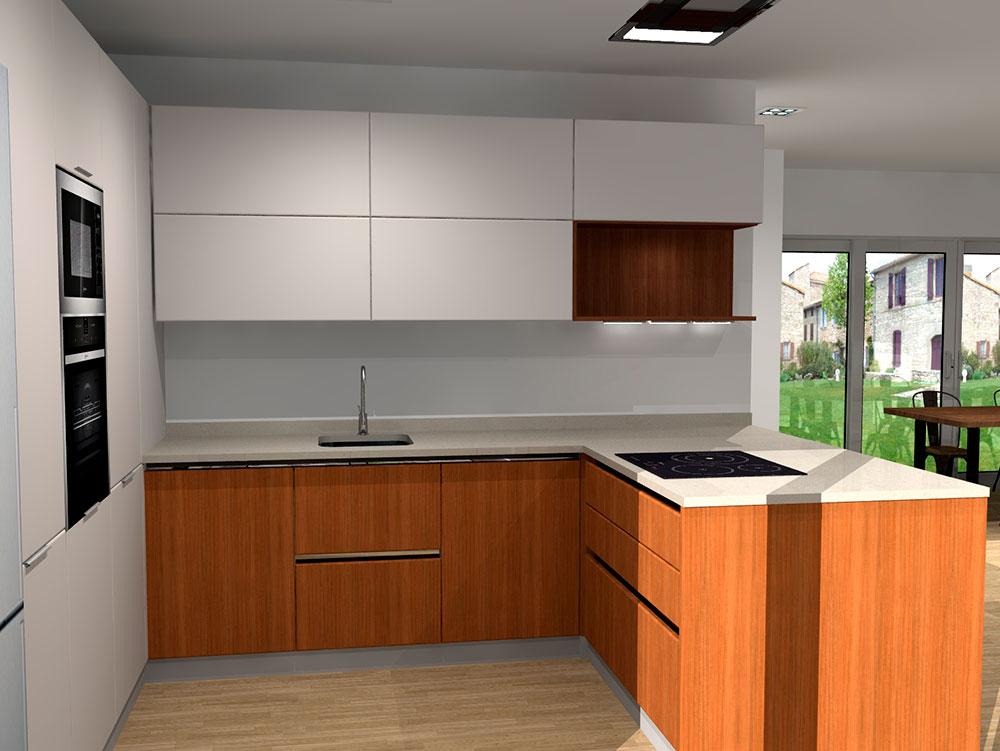 Diseño 3d Cocinas Vitoria - Tierra HOME Design