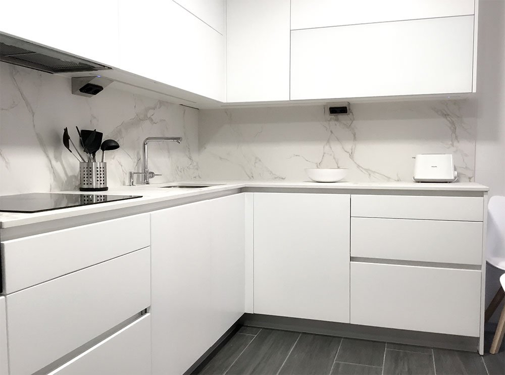 Cocinas sin tiradores - Muebles de cocina Vitoria :: Tierra HOME DESIGN