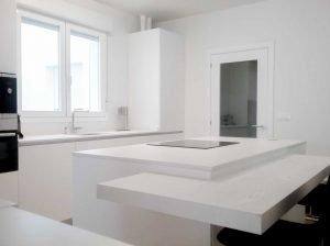 cocina blanca moderna vitoria