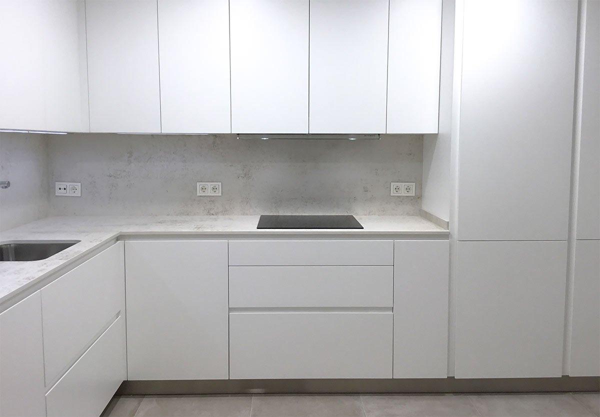cocina blanca vitoria