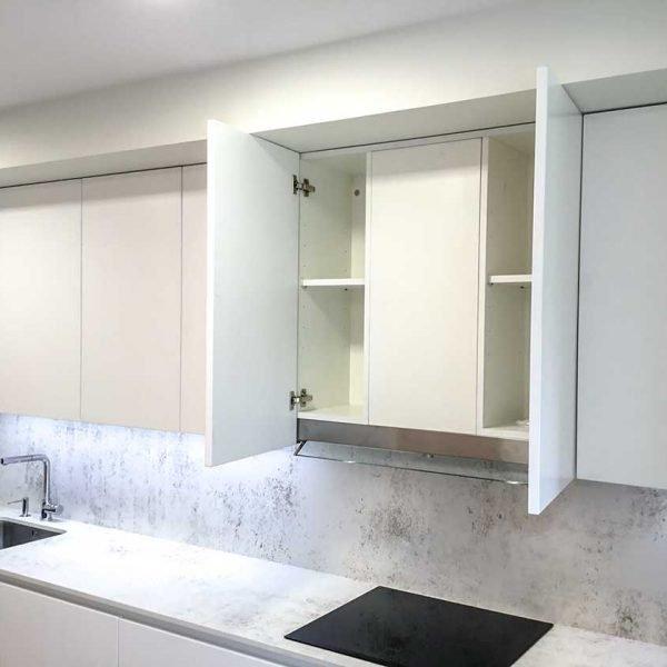 Muebles de cocina hasta el techo, ¿Si o no? - Cocinas Modernas hasta el techo