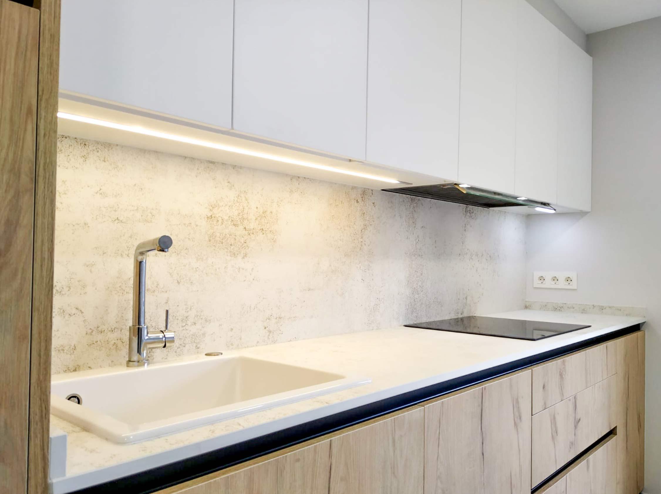 Tipos de cocinas galer a de im genes de cocinas for Color credence cocina blanca