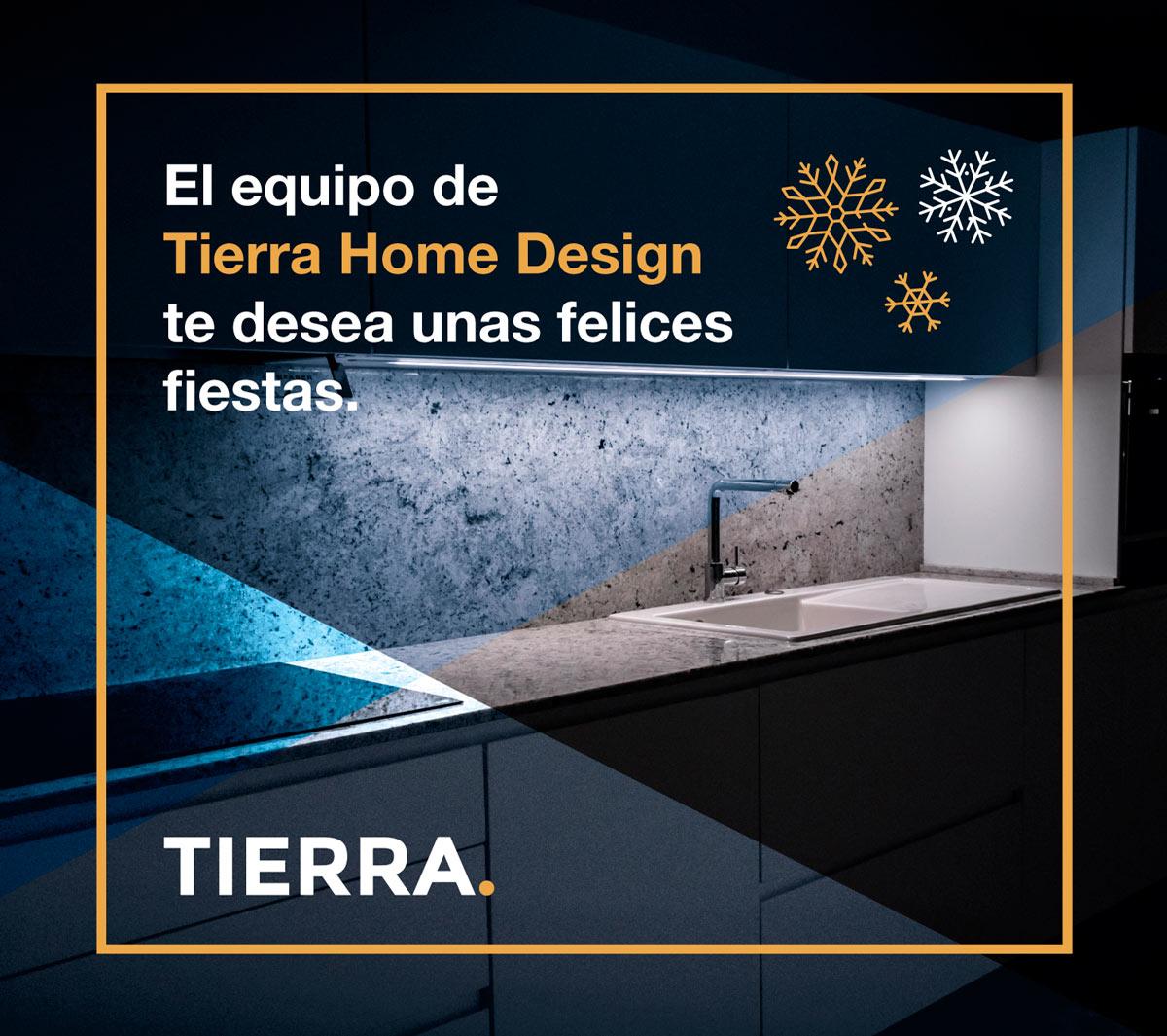 Nuestro equipo te desea felices fiestasTierra Home Design - diseño de cocinas en Vitoria