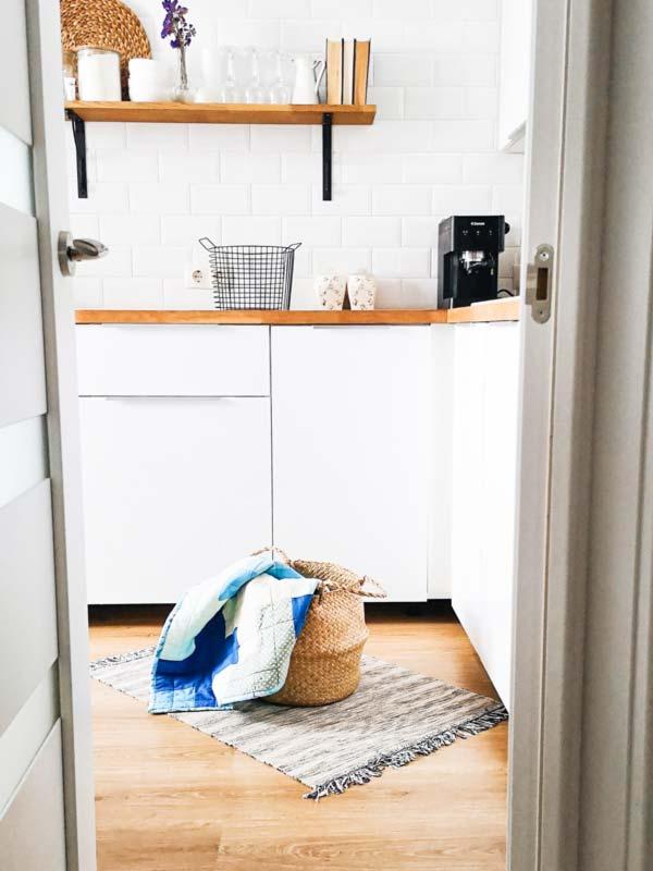 Instalar lavadora en la cocina