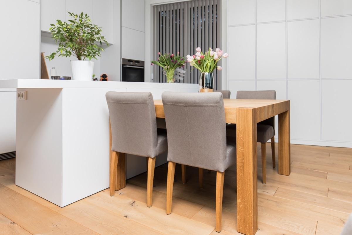 Medidas y distancias de las mesas de cocina