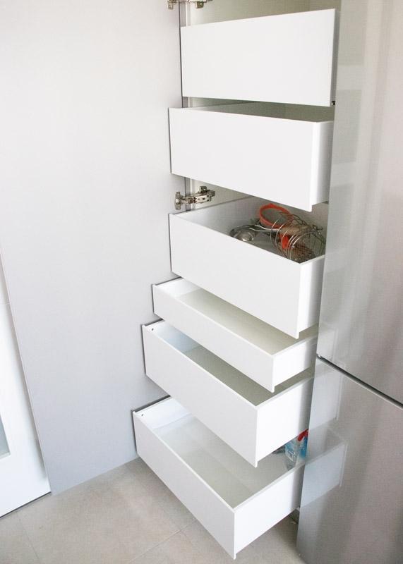 ideas almacenaje en cocina